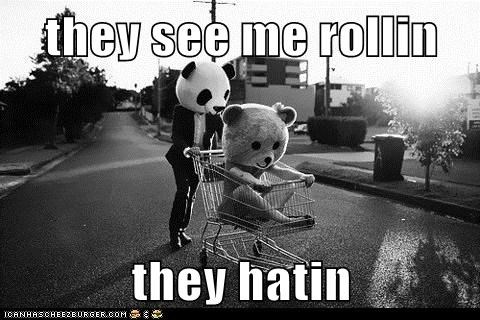 hipsterlulz they see me rollin - 5559337728