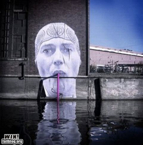 art classic graffiti hacked irl sip straw Street Art - 5559337984