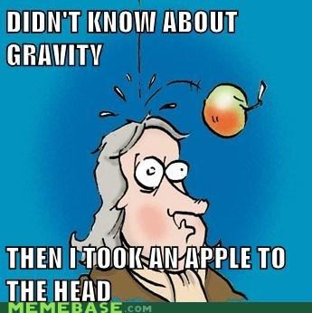 apple arrow to the knee Gravity Memes - 5559436032