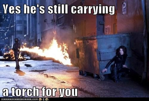 awakening carrying a torch fire movies underworld vampires - 5559439616