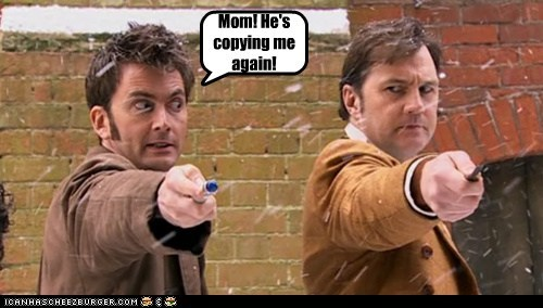 copying,david morrissey,David Tennant,doctor who,Jackson Lake,mom,screwdriver,the doctor,the next doctor
