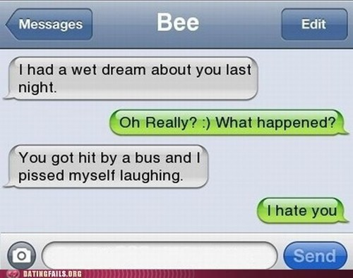 dream hate texting - 5559492864