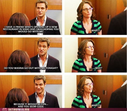 30 rock asking out does not compute liz lemon wait what - 5559493120