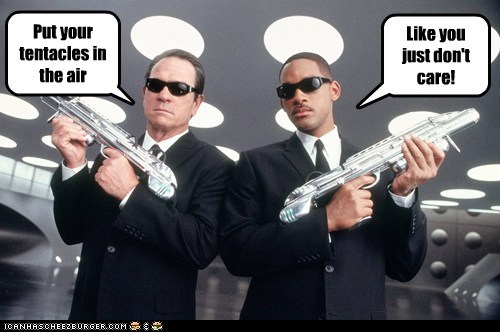dont-care like you men in black tentacles tommy lee jones will smith - 5559496704