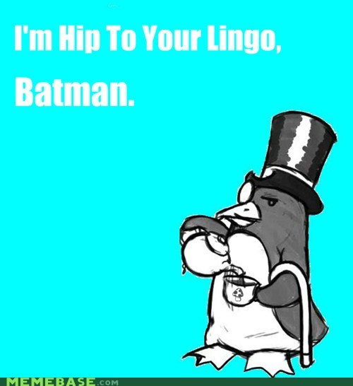 Awesome Art,batman,lingo,penguin