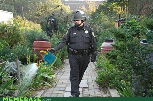 oh nice,Pepper Spray Cop,water,watering can