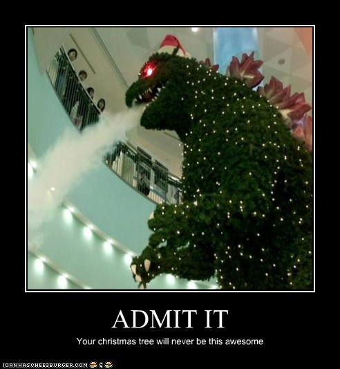 ADMIT IT Your christmas tree will never be this awesome