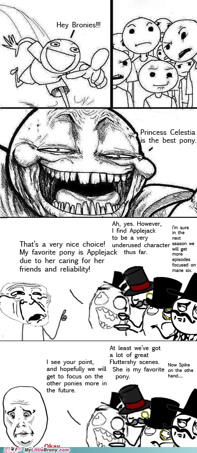 best of week bronies win flamewar love and tolerance meme troll - 5560142080