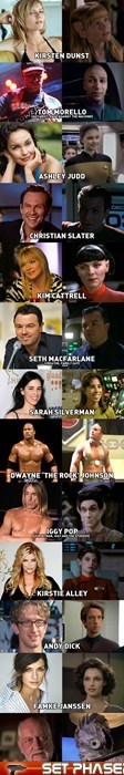 Famous People in Star Trek
