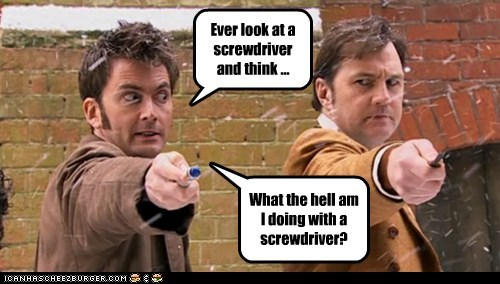 david morrisey David Tennant doctor who Jackson Lake screwdriver sonic sonic screwdriver the doctor - 5560236544