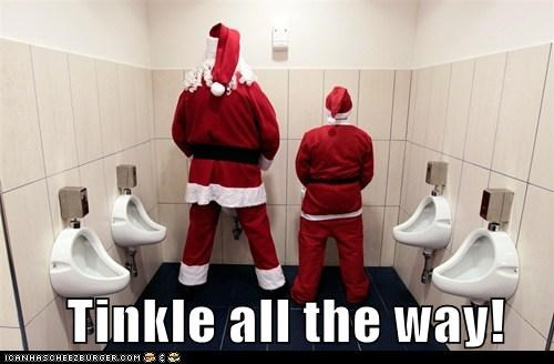 Tinkle all the way!