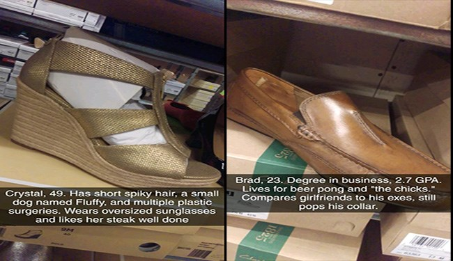 shoes hilarious wear descriptions funny - 5561093