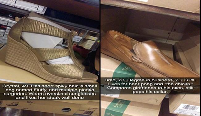 shoes hilarious wear descriptions funny - 5561093