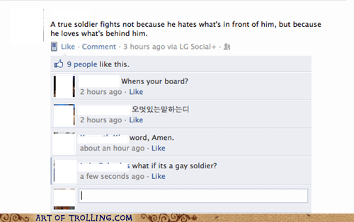 facebook,gay,soldier,wtf
