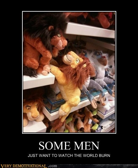 hilarious lion king mufasa world burn