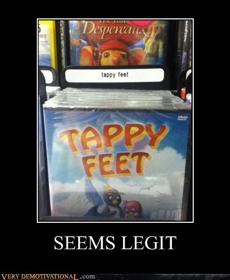 happy feet,hilarious,Movie,tappy,wtf