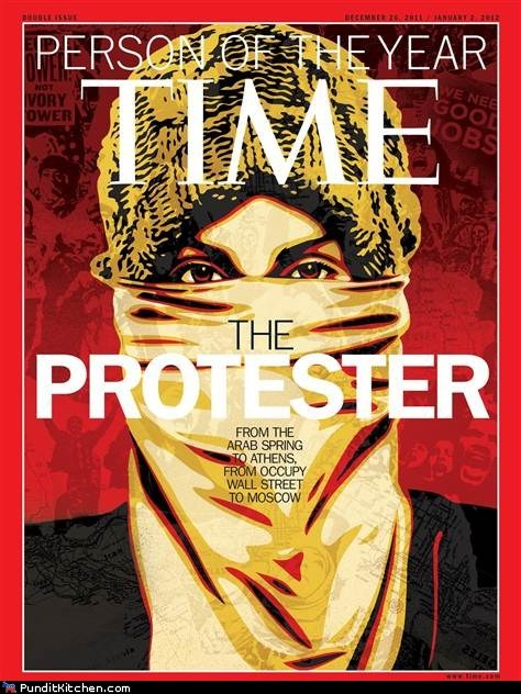 america,egypt,greece,Occupy Wall Street,political pictures,Protest,protester,time magazine,usa