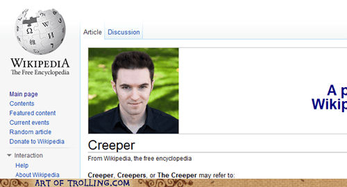 Awkward creeper plea wikipedia - 5563213312