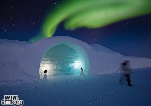 aurora borealis,design,ice,igloo,mother nature ftw,snow,winter