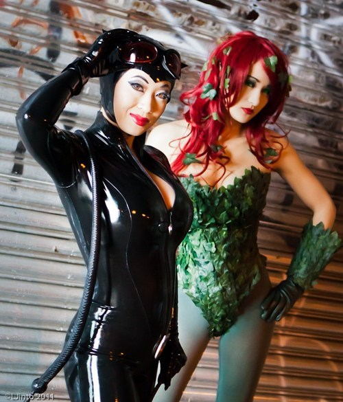 catwoman,cosplay,cosplay corner,LJinto,poison ivy,superheroes
