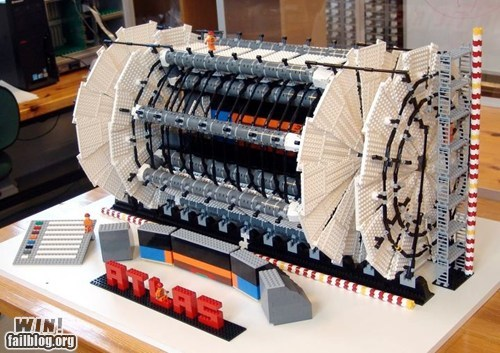 g rated,Large Hadron Collider,lego,model,nerdgasm,science,science is rad,win
