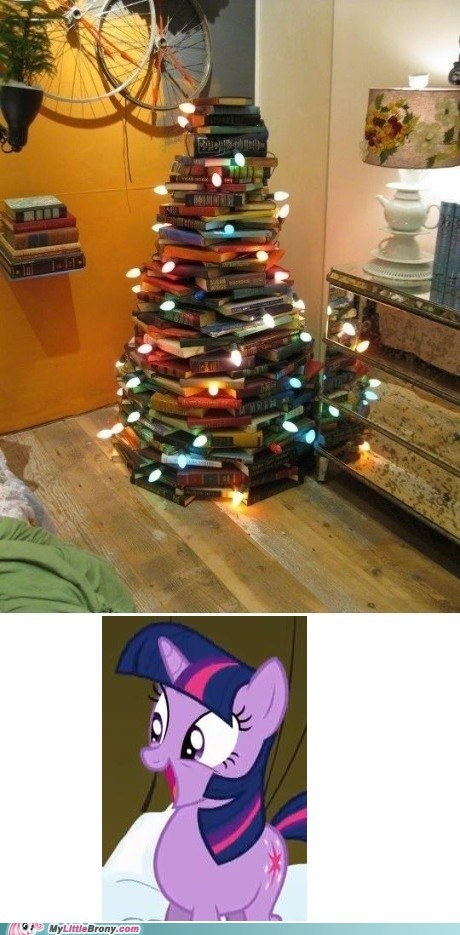 books christmas tree education IRL lecture twilight sparkle - 5563527424