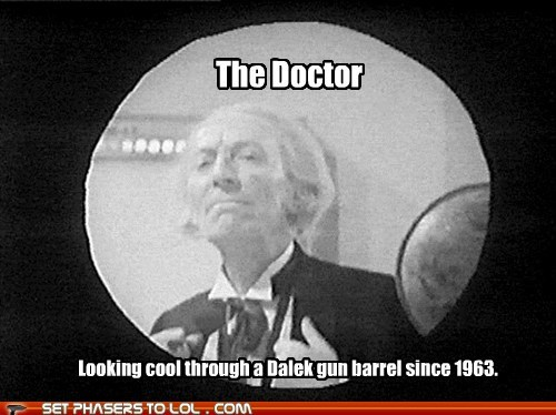 barrel cool dalek doctor who the doctor william hartnell
