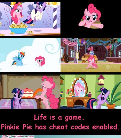 Pinkie Pie Won the Game