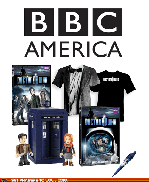 amy pond bbc america contest cool doctor who DVD geek giveaway tardis the doctor - 5563956992
