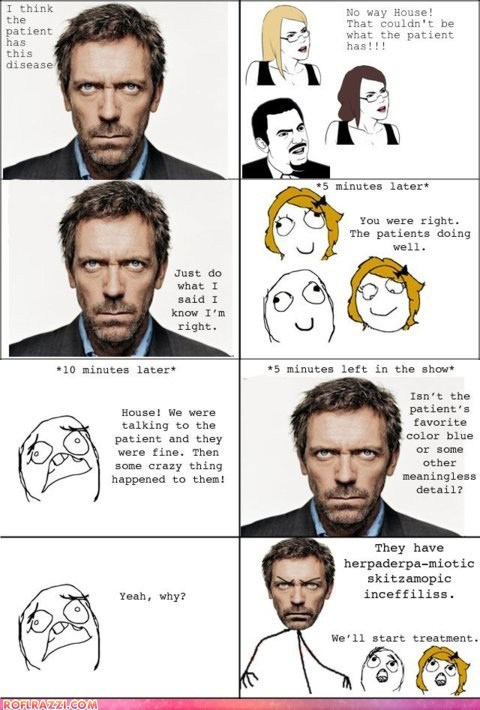 actor,celeb,funny,house,hugh laurie,rage comic,TV