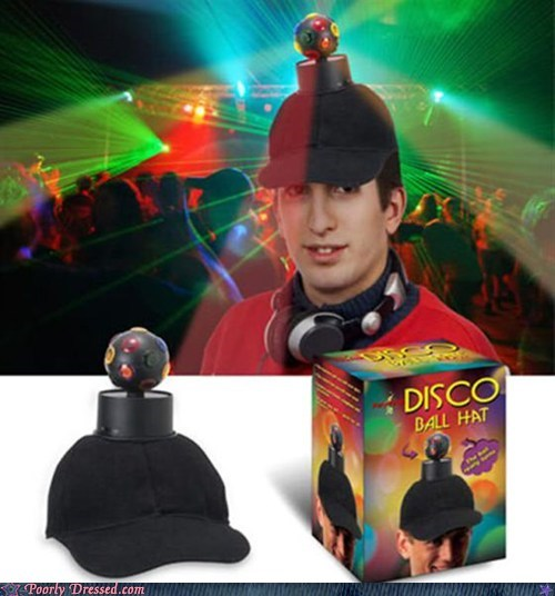 disco balls Hall of Fame hats the life of the party
