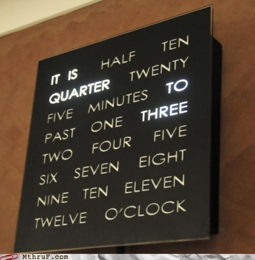 Every office clock absolutely needs to be this
