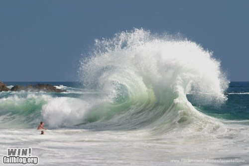 beach crashing mother nature ftw photography wave waves - 5564311040