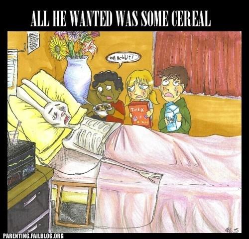 cartoons cereal comic food g rated Hall of Fame nostalgia parenting Parenting Fail trix - 5564337920