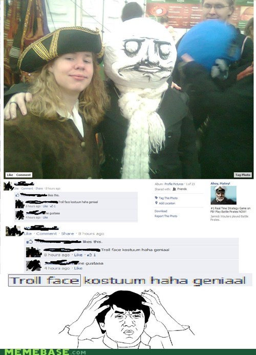 know your meme me gusta trollface - 5564345856