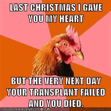 cheezburger image 5564433408 - Last Christmas I Gave You My Heart