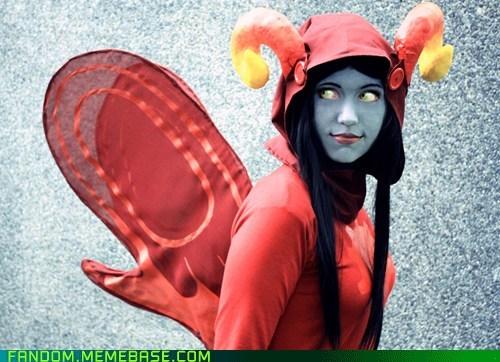 aradia cosplay god tier homestuck