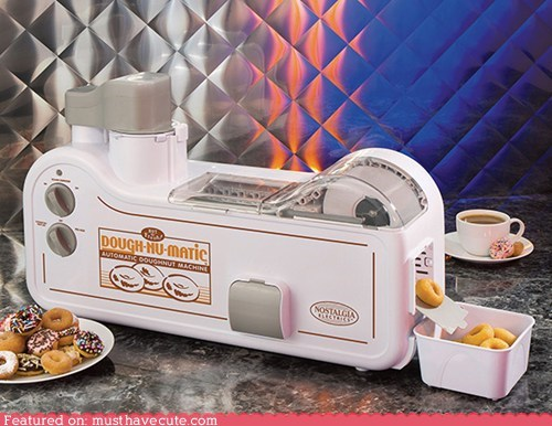 cooking donuts doughnuts kitchen machine maker mini