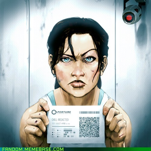 chell Fan Art Portal video games - 5564921856