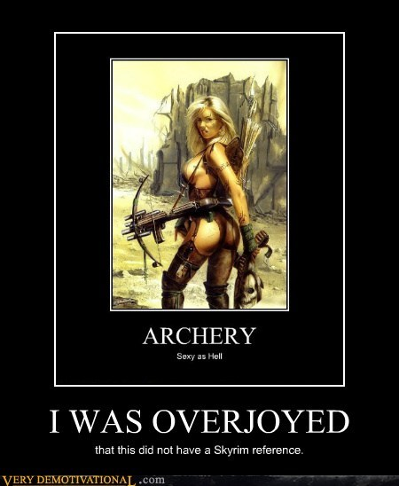 archery,hilarious,reference,Sexy Ladies,Skyrim