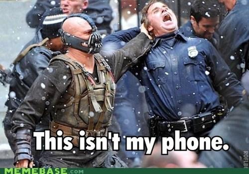 angry,bane,phone,Super-Lols,wtf