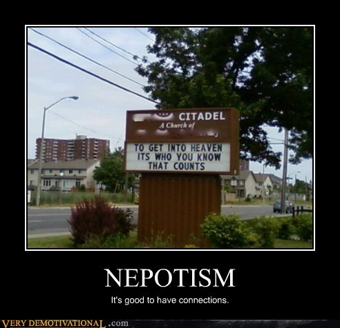 church god hilarious jesus nepotism - 5565822720