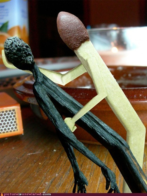burnt,fire,matches,wtf