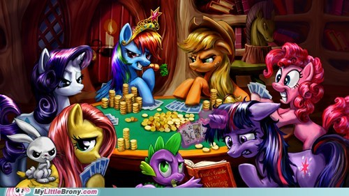art best of week cute mane six poker raindow dash wins - 5567741696