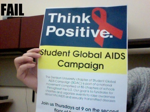 aids disease hiv irony ouch - 5568073472