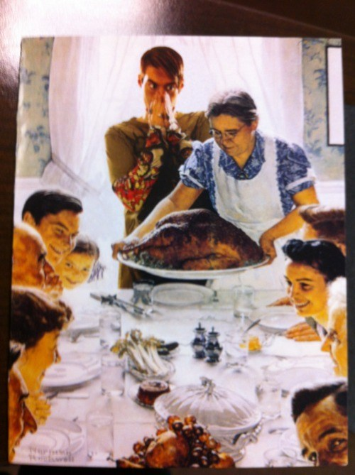 christmas card norman rockwell SNL Stefon - 5568083968