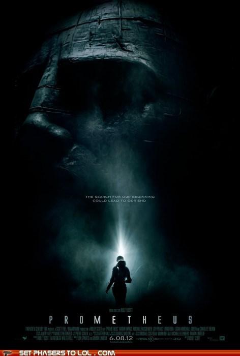 alien Aliens hr giger poster prometheus Ridley Scott - 5568248064