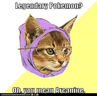 arcanine,Cats,Hipster Kitty,hipsters,legendary,Pokémon