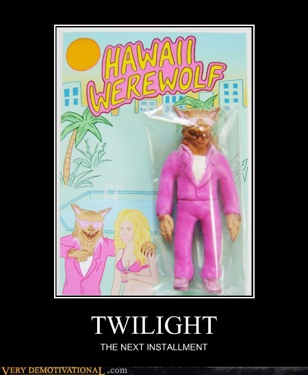 Hawaii hilarious toy twilight werewolf wtf - 5568401920