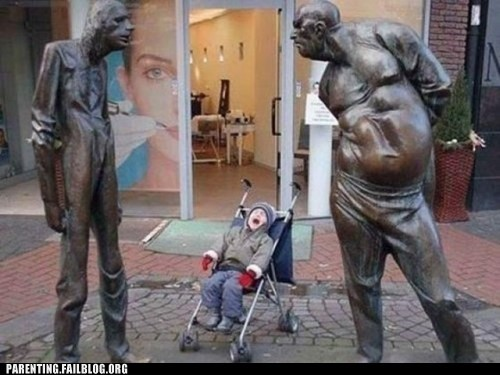 baby,creepy,crying,Parenting Fail,sculpture,statue